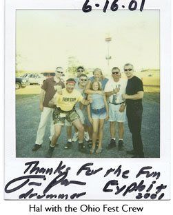 Hal with Ohio Fest Crew